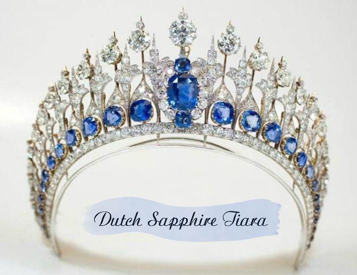 The Shimmering Dutch Sapphire Tiara