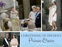 Christening of Sweden's Prince Oscar
