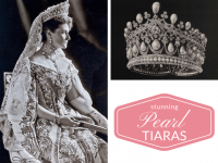 Pearl Tiaras Fit for a Queen