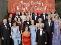 King Carl XVI Gustaf of Sweden Celebrates 70th Birthday
