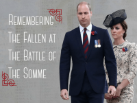 British Royals Attended Battle of Somme Centenary Services