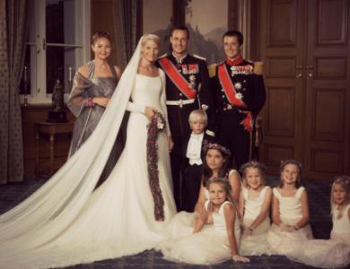 Crown Prince Haakon's a Wedding Anniversary