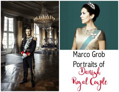 Striking Portraits of Danish Crown Prince Couple
